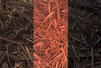 Color Enhanced Mulch – Dyed Red